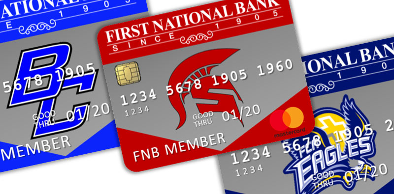 credit card for school spirit